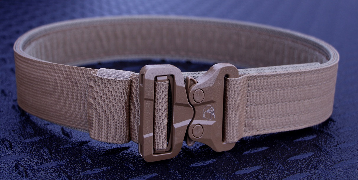 LE Duty Belt, OUTER (Gen 2.5), LG, Coyote Brown